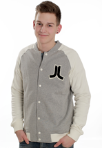 Wesc - Balker Grey Melange - College Jacket