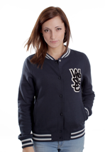 Wesc - Laika Navy - Girl College Jacket