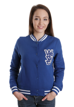 Wesc - Laika True Blue - Girl College Jacket
