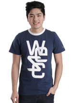 Wesc - Overlay Classic Estate Blue - T-Shirt