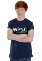 Wesc - WeSC Blue Atlantic - T-Shirt