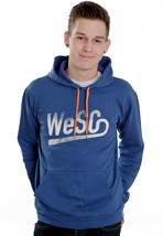 Wesc - WeSC Baseball Turkish Sea - Hoodie