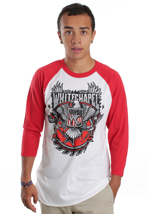 Whitechapel - Revolution White/Red - Longsleeve