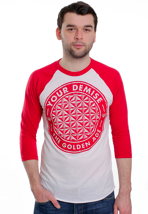 Your Demise - Albumcircle White/Red - Longsleeve