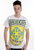 Your Demise - Diamond Crest White - T-Shirt