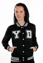 Your Demise - Flamboyant - Girl College Jacket