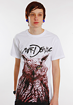Your Demise - Owl White - T-Shirt