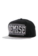 Your Demise - Sink Your Teeth Black/Grey Snapback - Cap