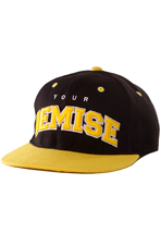 Your Demise - Yellow YD Squad Black/Yellow Snapback - Cap