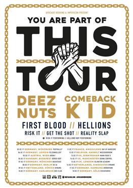Deez Nuts/Comeback Kid - Tickets