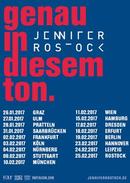 Jennifer Rostock - Tickets